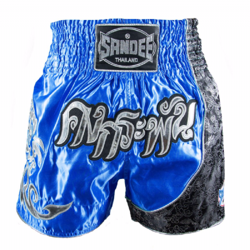 Sandee Kids Unbreakable Muay Thai Shorts - Royal Blue